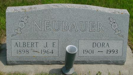 NEUBAUER, ALBERT J. F. - Crawford County, Iowa | ALBERT J. F. NEUBAUER