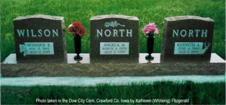 NORTH, MONIQUE WILSON, KENNETH A. &  ANGELA M. (MUNCIE) & - Crawford County, Iowa | MONIQUE WILSON, KENNETH A. &  ANGELA M. (MUNCIE) & NORTH