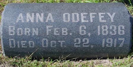 ODEFEY, ANNA - Crawford County, Iowa | ANNA ODEFEY