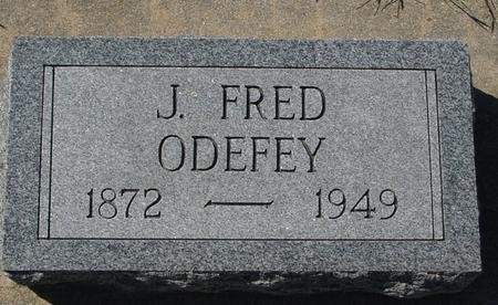 ODEFEY, J. FRED - Crawford County, Iowa | J. FRED ODEFEY