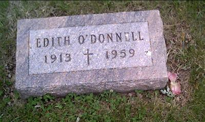 O'DONNELL, EDITH - Crawford County, Iowa | EDITH O'DONNELL