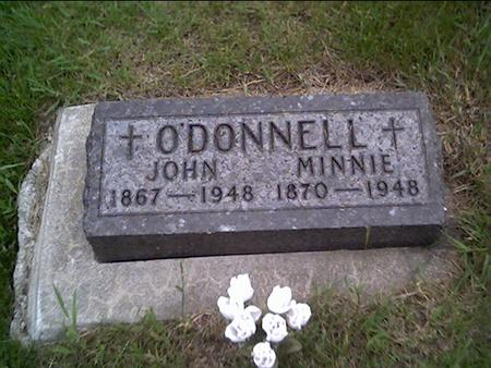 O'DONNELL, JOHN-MINNIE - Crawford County, Iowa | JOHN-MINNIE O'DONNELL