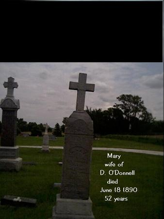DRURY O'DONNELL, MARY - Crawford County, Iowa | MARY DRURY O'DONNELL