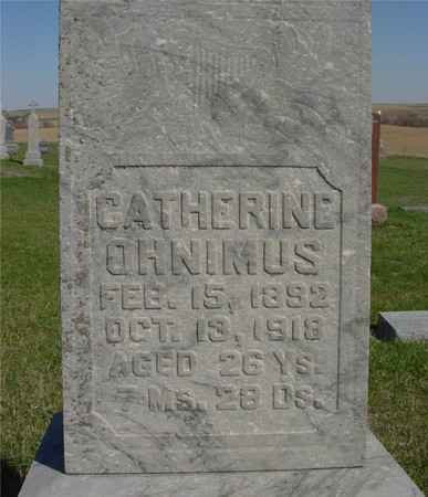 OHNIMUS, CATHERINE - Crawford County, Iowa | CATHERINE OHNIMUS