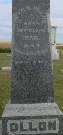 OLLON, OTTO K. - Crawford County, Iowa   OTTO K. OLLON