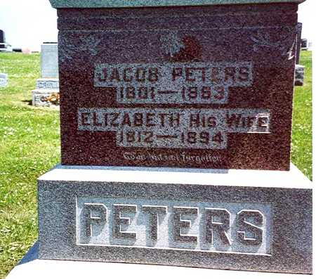 PETERS, JACOB & ELIZABETH - Crawford County, Iowa | JACOB & ELIZABETH PETERS