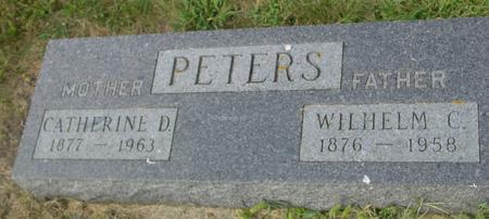 PETERS, WILHELM & CATHERINE - Crawford County, Iowa | WILHELM & CATHERINE PETERS