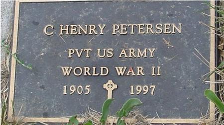 PETERSEN, C. HENRY - Crawford County, Iowa | C. HENRY PETERSEN