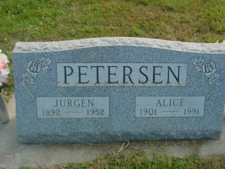 PETERSEN, JURGEN & ALICE - Crawford County, Iowa | JURGEN & ALICE PETERSEN