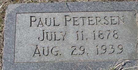 PETERSEN, PAUL - Crawford County, Iowa | PAUL PETERSEN