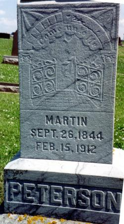 PETERSON, MARTIN - Crawford County, Iowa   MARTIN PETERSON