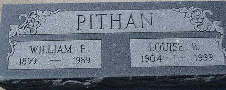 PITHAN, WILLIAM & LOUISE - Crawford County, Iowa | WILLIAM & LOUISE PITHAN