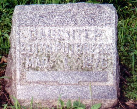 DOBSON PUTBRESE, EDITH - Crawford County, Iowa | EDITH DOBSON PUTBRESE