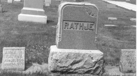 SCHUMANN RATHJE, ANNA MARGARET - Crawford County, Iowa | ANNA MARGARET SCHUMANN RATHJE