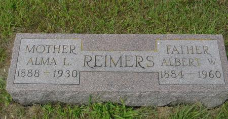 REIMERS, ALBERT & ALMA - Crawford County, Iowa | ALBERT & ALMA REIMERS