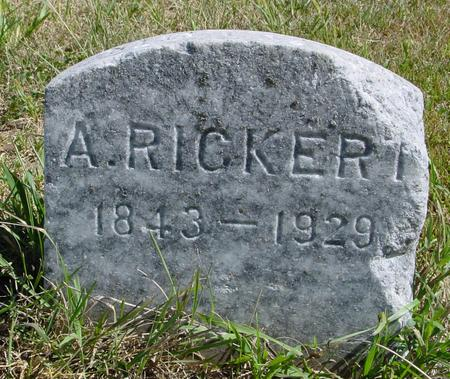 RICKERT, A. - Crawford County, Iowa | A. RICKERT