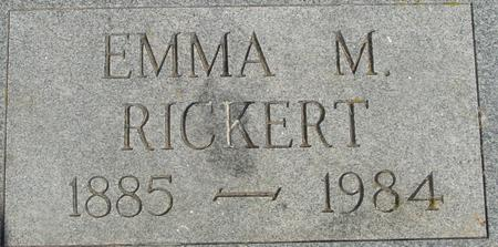RICKERT, EMMA M. - Crawford County, Iowa | EMMA M. RICKERT