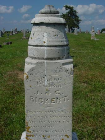RICKERT, J. & C. - Crawford County, Iowa | J. & C. RICKERT