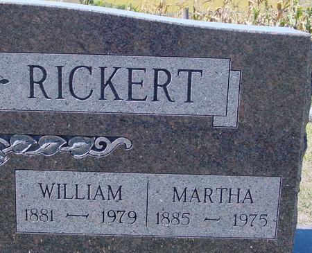 RICKERT, WILLIAM & MARTHA - Crawford County, Iowa   WILLIAM & MARTHA RICKERT