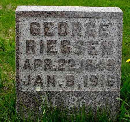 RIESSEN, GEORGE - Crawford County, Iowa | GEORGE RIESSEN
