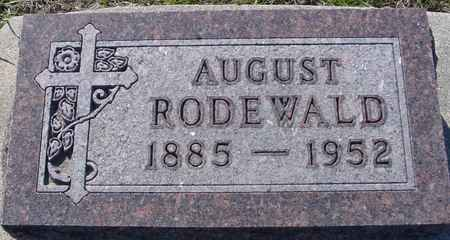 RODEWALD, AUGUST - Crawford County, Iowa | AUGUST RODEWALD