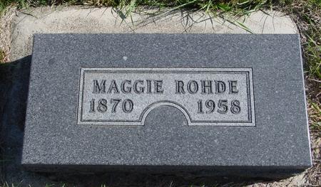 ROHDE, MAGGIE - Crawford County, Iowa | MAGGIE ROHDE