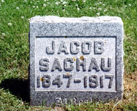 SACHAU, JACOB - Crawford County, Iowa | JACOB SACHAU