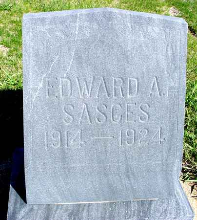 SASGES, EDWARD A. - Crawford County, Iowa | EDWARD A. SASGES