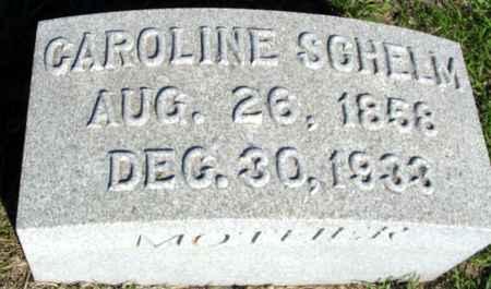 SCHELM, CAROLINE - Crawford County, Iowa | CAROLINE SCHELM