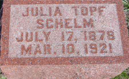 SCHELM, JULIA - Crawford County, Iowa | JULIA SCHELM