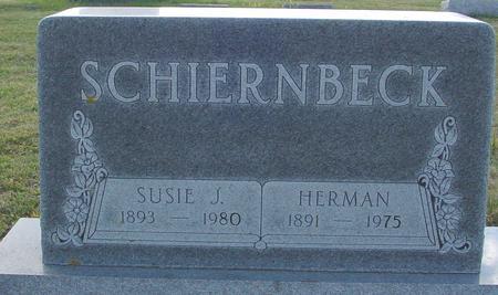 SCHIERNBECK, HERMAN & SUSIE - Crawford County, Iowa | HERMAN & SUSIE SCHIERNBECK