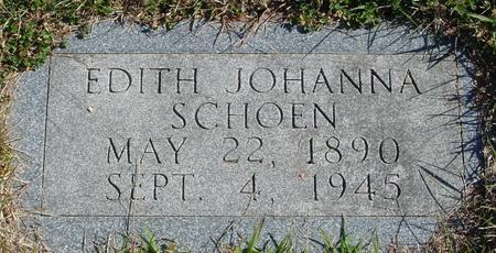 SCHOEN, EDITH JOHANNA - Crawford County, Iowa | EDITH JOHANNA SCHOEN