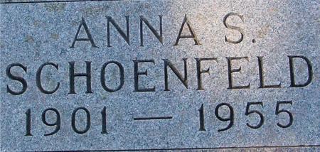 SCHOENFELD, ANNA S. - Crawford County, Iowa | ANNA S. SCHOENFELD