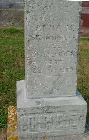 SCHROEDER, ANNA M. - Crawford County, Iowa | ANNA M. SCHROEDER