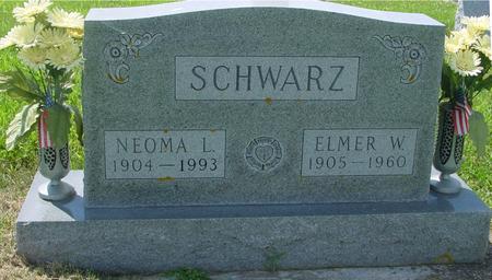 SCHWARZ, ELMER & NEOMA - Crawford County, Iowa | ELMER & NEOMA SCHWARZ