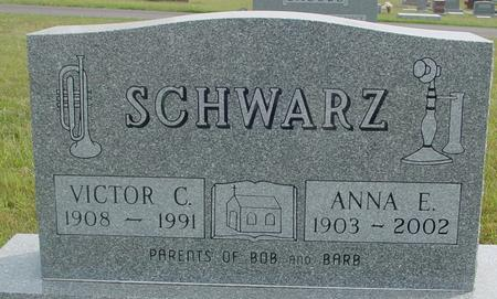 SCHWARZ, VIC TOR  & ANNA - Crawford County, Iowa | VIC TOR  & ANNA SCHWARZ