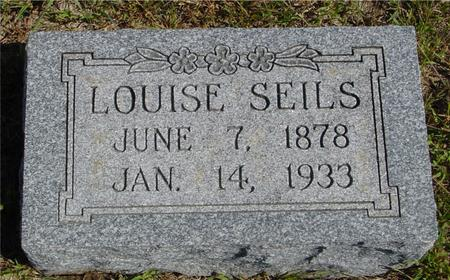 SEILS, LOUISE - Crawford County, Iowa | LOUISE SEILS