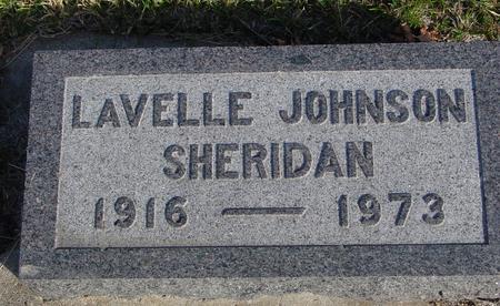 SHERIDAN, LAVELLE - Crawford County, Iowa | LAVELLE SHERIDAN