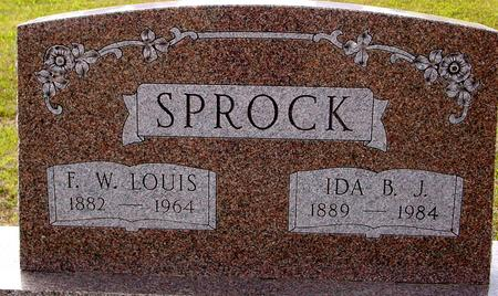 SPROCK, LOUIS & IDA - Crawford County, Iowa | LOUIS & IDA SPROCK