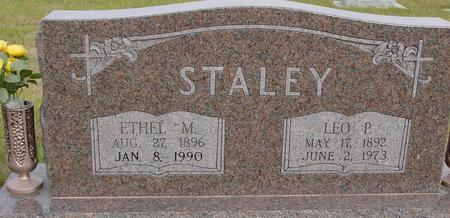 STALEY, LEO & ETHEL - Crawford County, Iowa | LEO & ETHEL STALEY