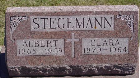 STEGEMANN, ALBERT & CLARA - Crawford County, Iowa | ALBERT & CLARA STEGEMANN