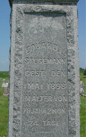 STEGEMANN, EDUARD L. - Crawford County, Iowa | EDUARD L. STEGEMANN