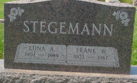 STEGEMANN, FRANK W. - Crawford County, Iowa | FRANK W. STEGEMANN