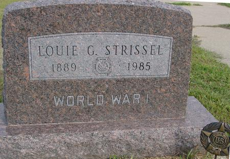 STRISSEL, LOUIE G. - Crawford County, Iowa | LOUIE G. STRISSEL
