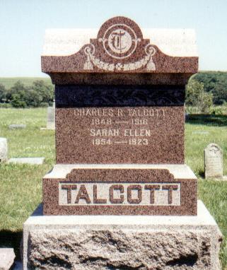 TALCOTT, SARAH ELLEN - Crawford County, Iowa | SARAH ELLEN TALCOTT