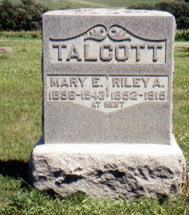 ADAMS TALCOTT, MARY ELLEN - Crawford County, Iowa | MARY ELLEN ADAMS TALCOTT