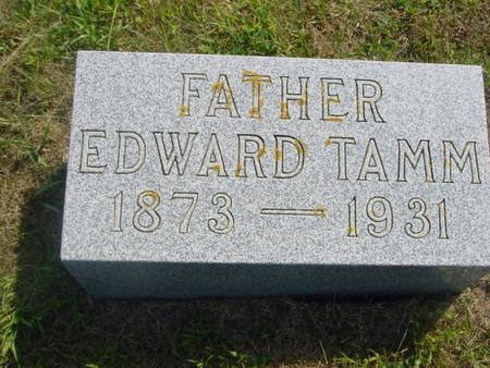 TAMM, EDWARD - Crawford County, Iowa | EDWARD TAMM