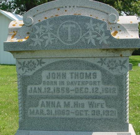 THOMS, JOHN - Crawford County, Iowa | JOHN THOMS