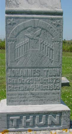 THUN, JOHANNES - Crawford County, Iowa | JOHANNES THUN