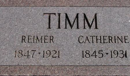 TIMM, REIMER & CATHERINE - Crawford County, Iowa | REIMER & CATHERINE TIMM